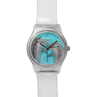 La charla del delfín reloj de mano