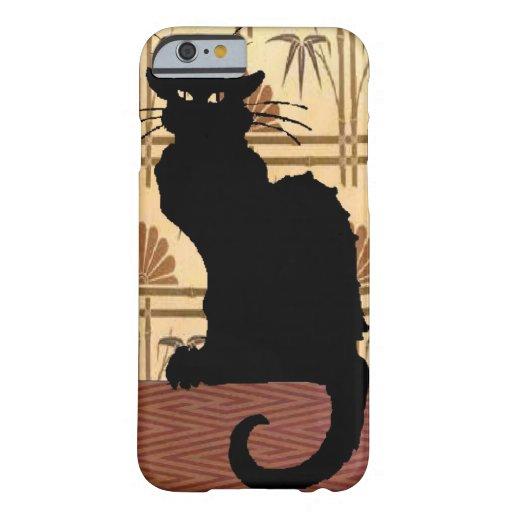 La charla famosa del gato negro Noir Funda De iPhone 6 Barely There