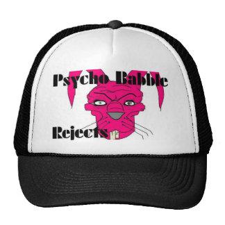 La charla psica rechaza el gorra del camionero