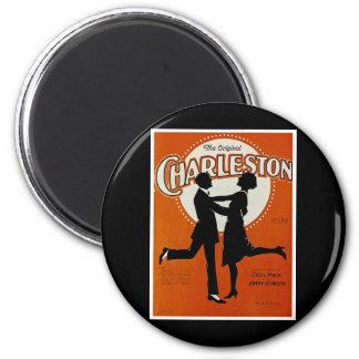 La Charleston original Imán De Nevera