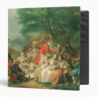 La Chasse, 18th century 3 Ring Binder