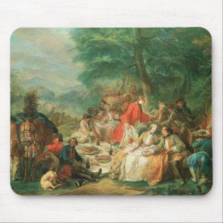 La Chasse, 18th century Mouse Pad