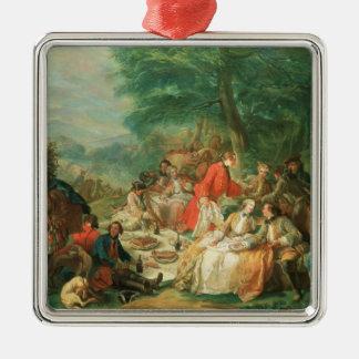 La Chasse, 18th century Christmas Tree Ornament