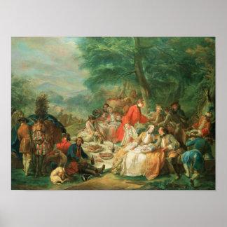 La Chasse, 18th century Poster