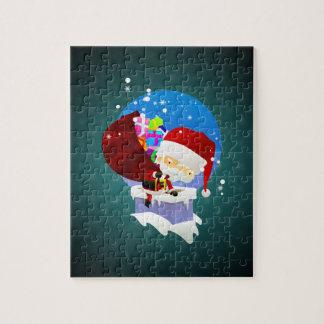 La chimenea de Santa Puzzles Con Fotos