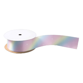 La chispa del arco iris soña la cinta lazo de raso