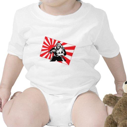 La chorreadora de arena vieja de Tokio Camisetas