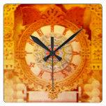 La choza de Yaga del bizcocho borracho - cara de Relojes De Pared