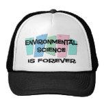 La ciencia ambiental es Forever Gorros Bordados