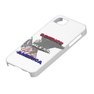 La ciencia bendice la bandera americana de América Funda Para iPhone 5 Barely There