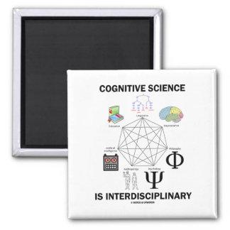 La ciencia cognitiva es interdisciplinaria imanes de nevera