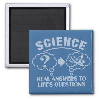 La ciencia contesta al imán de encargo