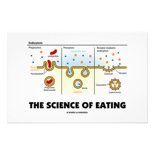 La ciencia de la consumición (humor de la biología personalized stationery