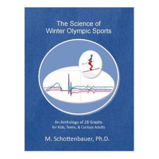 La ciencia de los deportes de la olimpiada de postal