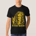 La ciencia de sir Isaac Newton oscila el camisetas Playera