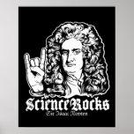 La ciencia de sir Isaac Newton oscila los posters