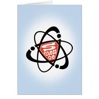¡La ciencia es apenas estupenda! Tarjeta De Felicitación