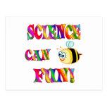 La ciencia es diversión postal