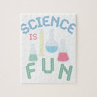 La ciencia es diversión puzzle