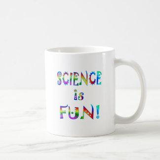 La ciencia es diversión tazas de café