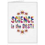 La ciencia es el mejor felicitacion