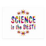 La ciencia es el mejor postal