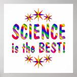 La ciencia es el mejor posters