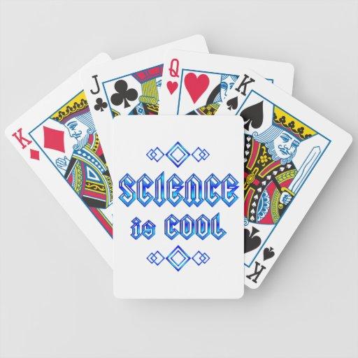 La ciencia es fresca baraja