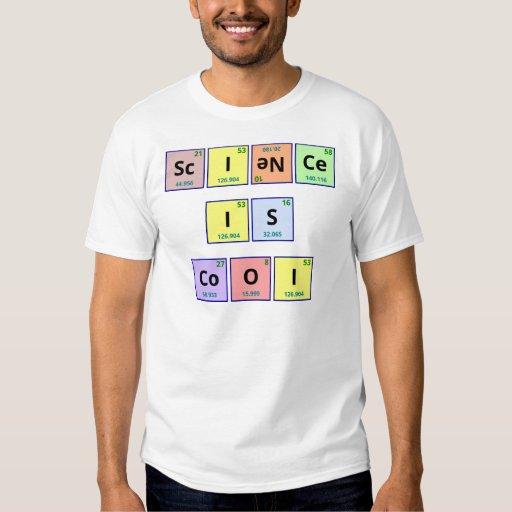 La ciencia es fresca playera