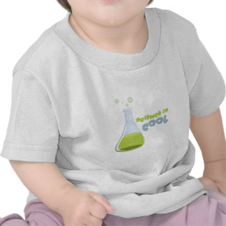 La ciencia es fresca camisetas