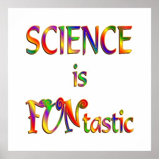 La ciencia es Funtastic Impresiones
