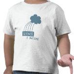 La ciencia es impresionante (el azul de acero) camisetas