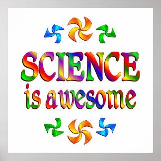 La ciencia es impresionante impresiones