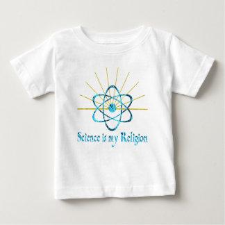 La ciencia es mi religión t shirts