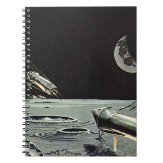 La ciencia ficción del vintage, Rocket envía los Notebook