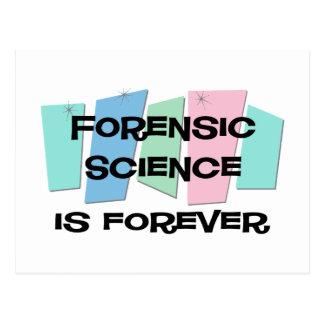 La ciencia forense es Forever Postal