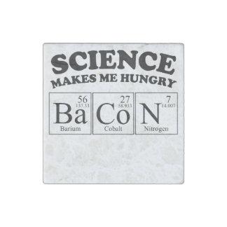 La ciencia me hace el tocino hambriento imán de piedra