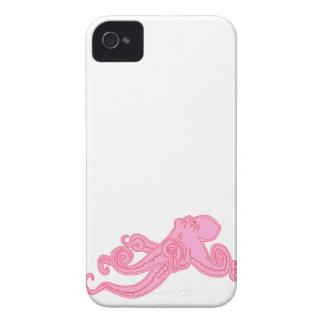 La ciencia náutica linda del vintage rosado del iPhone 4 Case-Mate coberturas