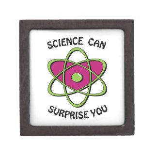 La ciencia puede sorprenderle caja de joyas de calidad