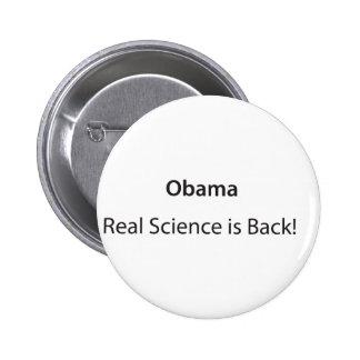 ¡La ciencia real está detrás! Pins