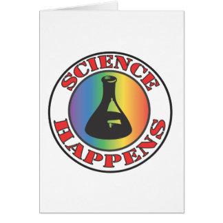 La ciencia sucede felicitación