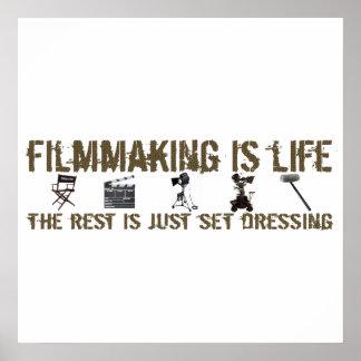 La cinematografía es vida impresiones