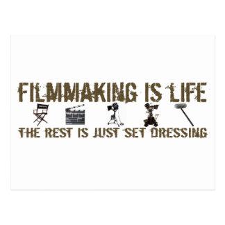 La cinematografía es vida postal