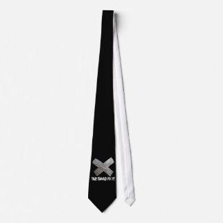 La cinta aislante debe fijarlo corbatas personalizadas