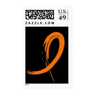 La cinta anaranjada A4 de la leucemia Franqueo