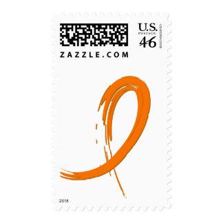 La cinta anaranjada A4 del cáncer del riñón