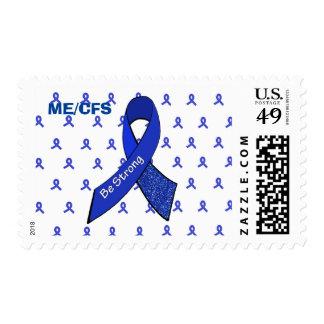 La cinta de la conciencia de ME/CFS, sea sello
