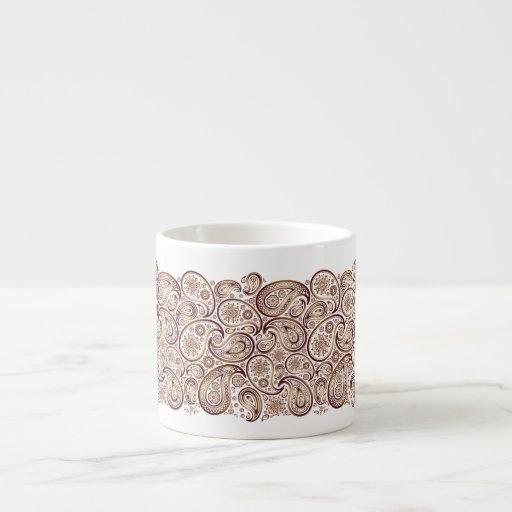La cinta de Pailey agita en el cobre - taza del Taza Espresso