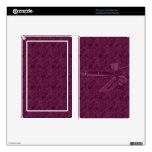 La cinta púrpura del vintage personalizada enciend skin para kindle fire