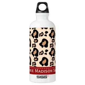 La cinta roja BPA del estampado leopardo libera